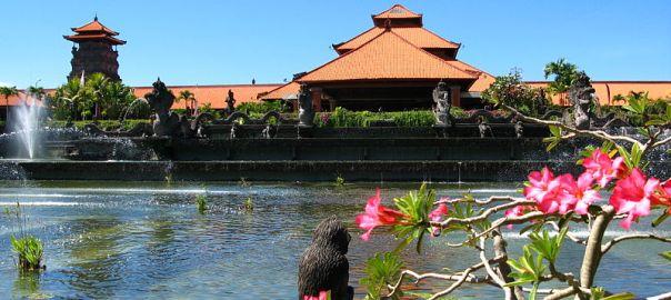 Jardins do resort Ayodya, Bali, Ayodya