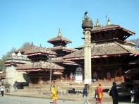 Katmandu, templos ao lado do antigo palácio real