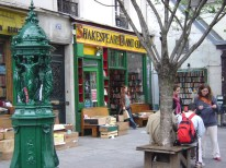 Livraria Shakespeare, no Quartier Latin, Paris
