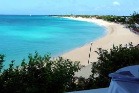 Long beach, Saint-Martin, Caribe