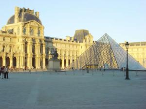 Louvre, em Paris