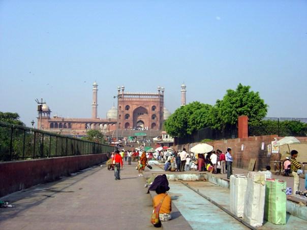 Mesquita Jamah Mashid, Velha Delhi