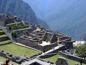 Ruínas incaicas de Machu Picchu, Peru