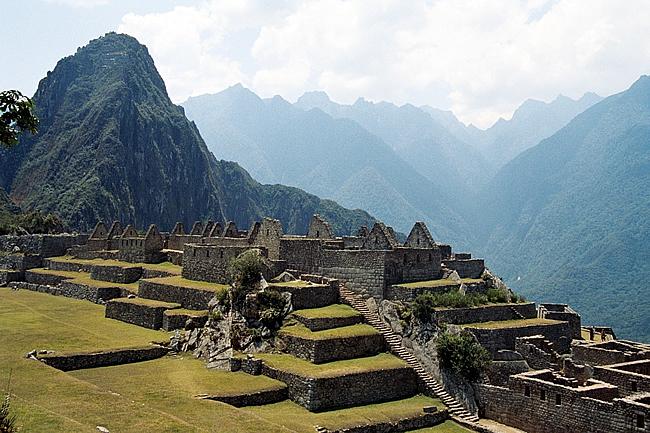 Machu Picchu, no Peru, a cidade perdida dos incas