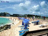 Maho bay, Saint-Martin, Caribe