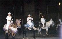 Marrocos, representação folclórica, foto de Melina Castro