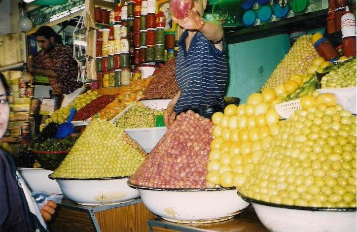 Mercado de Marrackech, foto de Melina Castro
