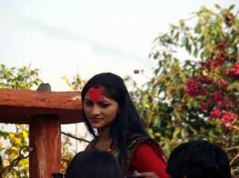 Moça em Pokhara, Nepal