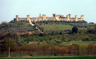 Monteriggioni. Toscana