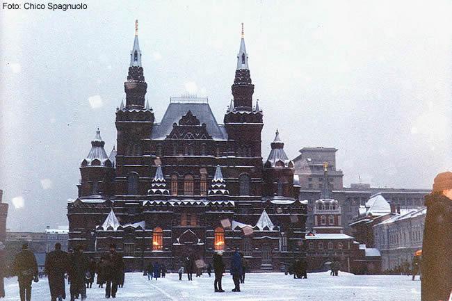 Igreja ortodoxa em Moscou, Rússia, foto Chico Spagnuolo
