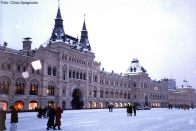 Moscou sob a neve, Rússia, foto Chico Spagnuolo