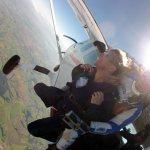 O momento de se jogar no vazio, paraquedismo, Boituva, SP