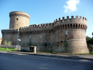 Castelo de Ostia Antica, Itália