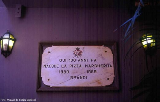 Onde a pizza Margherita foi inventada