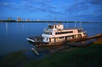 Juazeiro, às margens do rio Sao Francisco