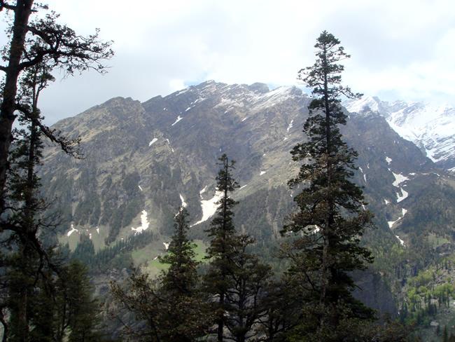 Paisagens no Himalaia, Índia