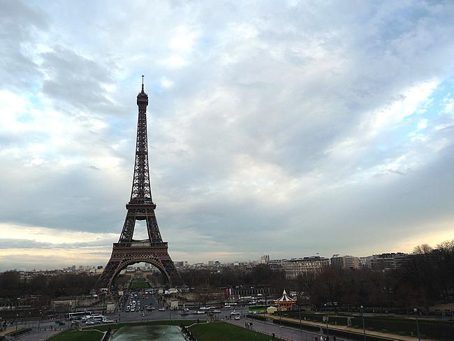 Panorâmica, Tour Eiffel, Paris