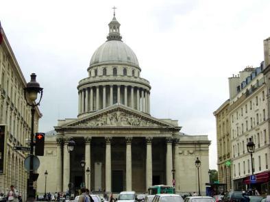 Pantheon, Quartier Latin, Paris