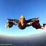Paraquedismo em Boituva, planando