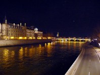 Paris à noite, França