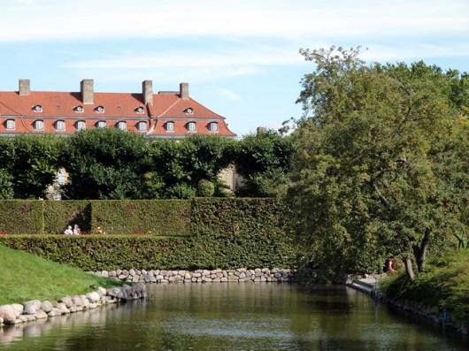 Parque em Copenhagen, Dinamarca