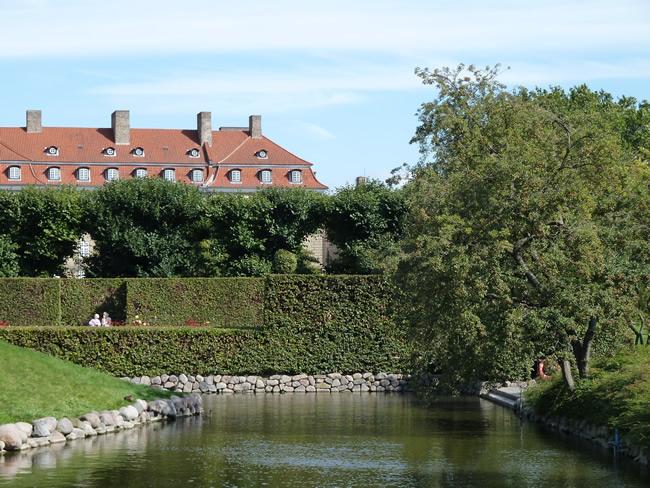 Parque em Copenhagen, na Dinamarca