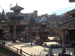 Templos de Patan, praça principal, Nepal