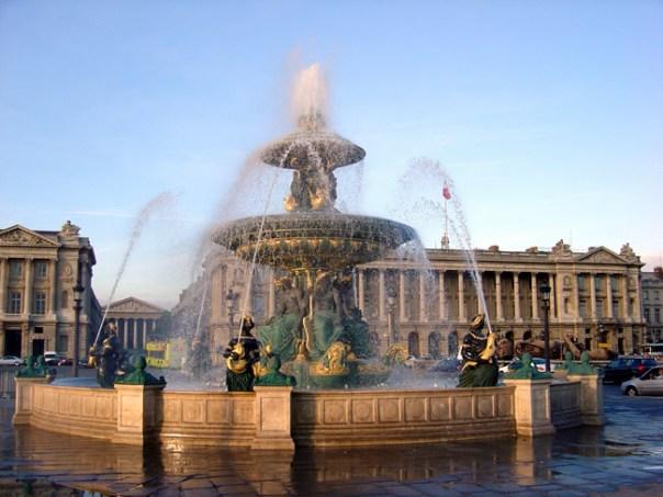 Place de la Concorde, em Paris