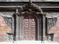 Porta em Patan, Nepal