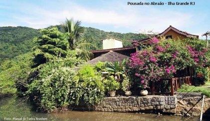 Pousada no Abraão, Ilha Grande, Rio de Janeiro