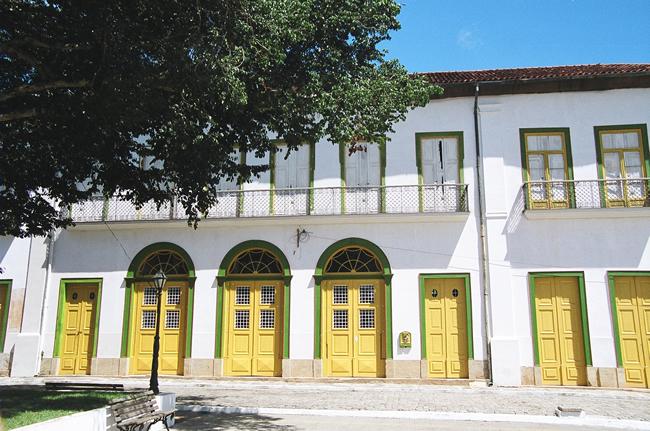 Praça Central de Bananal, SP