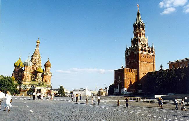 Praça Vermelha, em Moscou, Rússia, foto Chico Spagnuolo