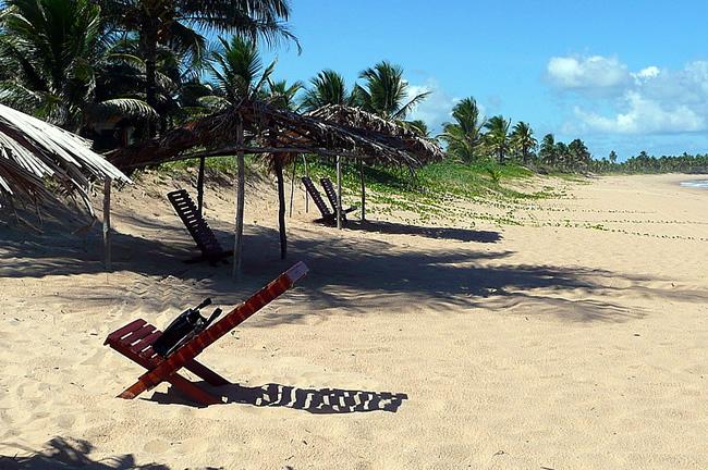 Praia Cassange, Maraú, Bahia