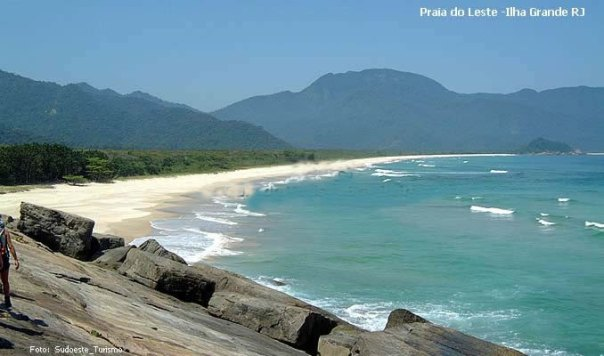 Praia do Leste, Ilha Grande, RJ