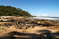 Praia em Itacaré, na Bahia