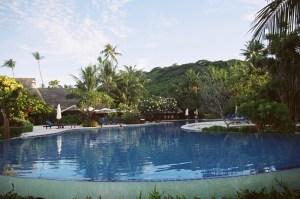 Resort em Papeete, Tahiti, Polinésia Francesa