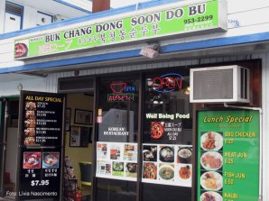 Restaurante asiático no Havaí