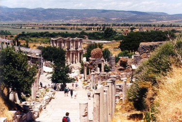 Ruínas da cidade de Éfeso, Turquia