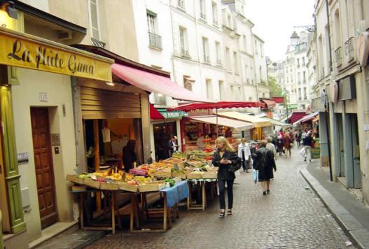 Rue Mouffetard, Quartier Latin