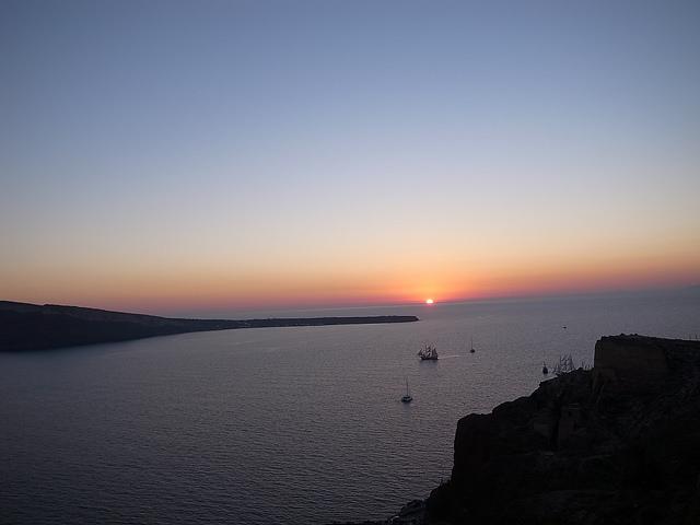 Santori na Grécia