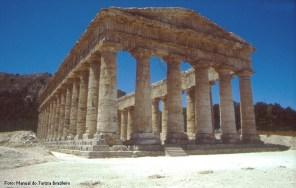 Segesta, na Sicília