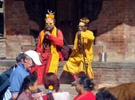 Shadus em Katmandu, Nepal