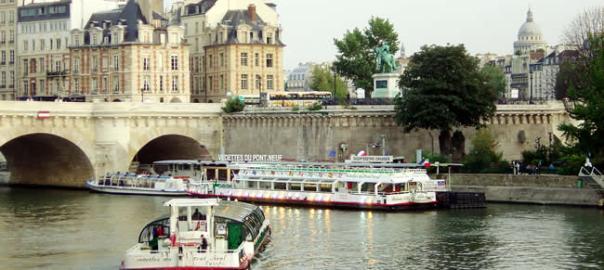Square du Vert Galant, na île de la Cité, Paris
