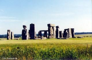 Ruínas de Stonehenge, Inglaterra