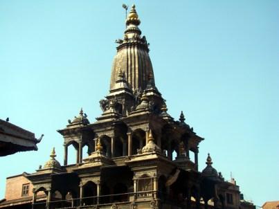 Templo estilo sikhara, Patan, Nepal