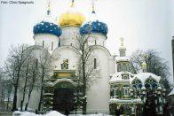 Templo ortodoxo em Moscou, Rússia, foto Chico Spagnuolo