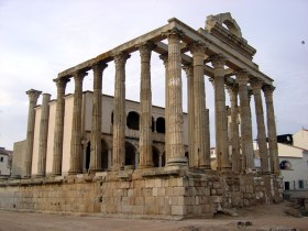 Templo romano em Mérida