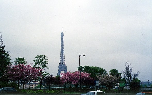 Torre Eiffel vista do Trocadéro, Paris