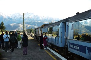 Trem Transalpino, South Island