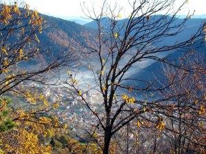 Serra da Estrela, cidade de Manteigas